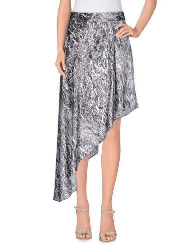 Mcq By Alexander Mcqueen 3/4 Length Skirts In Steel Grey