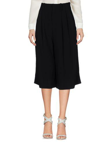 Alice And Olivia Cropped Pants & Culottes In Black