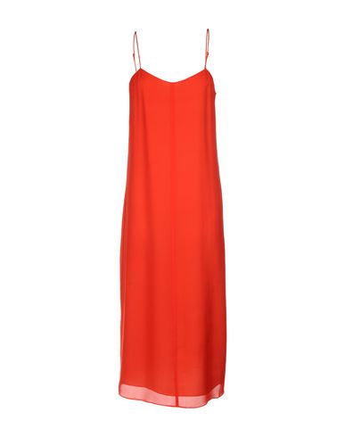 T By Alexander Wang 3/4 Length Dresses In Red