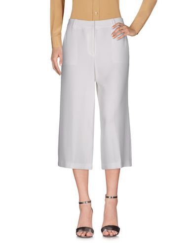 Theory Cropped Pants & Culottes In White