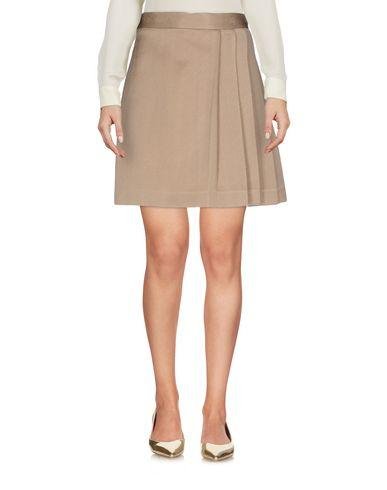 Msgm Mini Skirts In Khaki