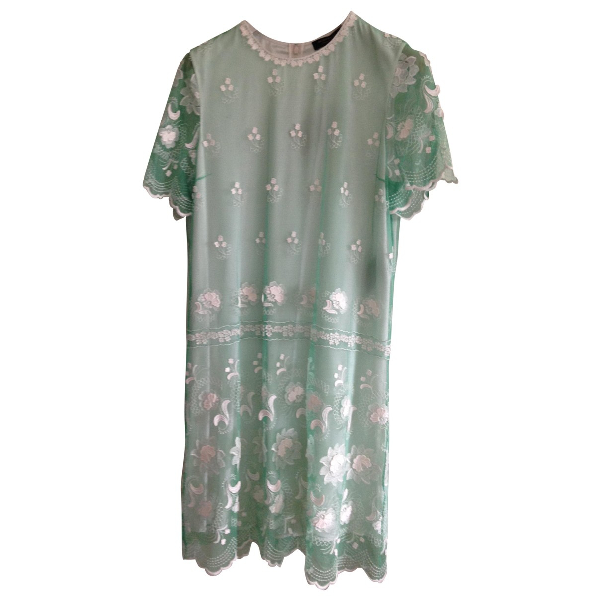 Burberry Green Lace Dress