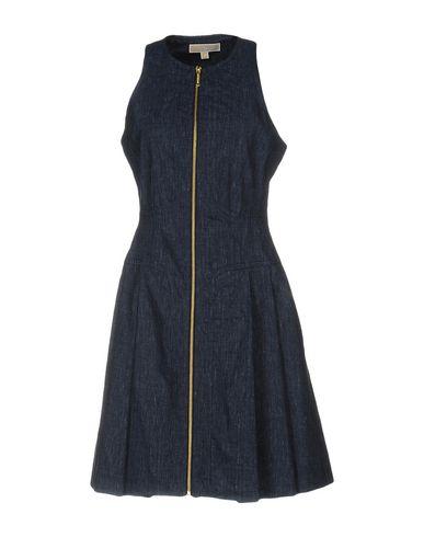 Michael Michael Kors Short Dress In Blue