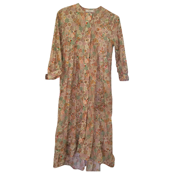 Roseanna Multicolour Cotton Dress