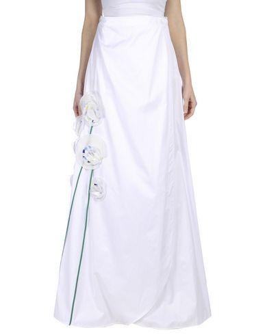 Anna Sammarone Long Skirts In White