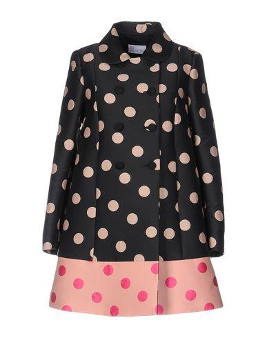 Red Valentino Full-length Jacket In Black