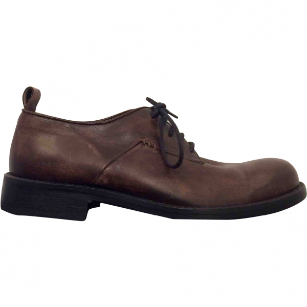 Hope Brown Leather Lace Ups