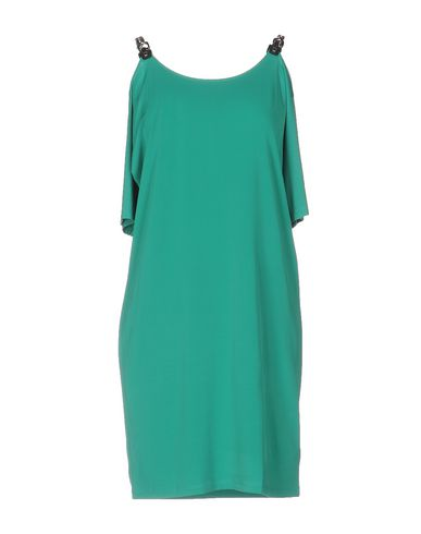 Michael Michael Kors Short Dresses In Green
