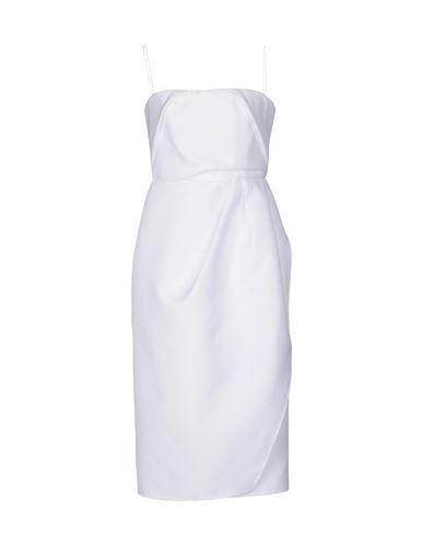 Carven Short Dresses In White
