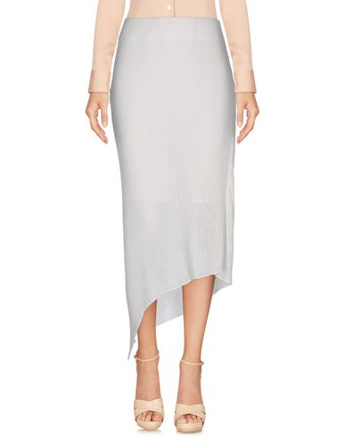 Mcq By Alexander Mcqueen Midi Skirts In White
