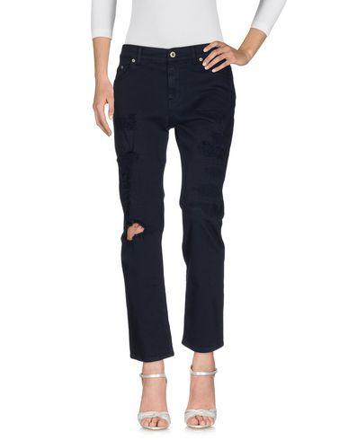 Dondup Denim Pants In Dark Blue