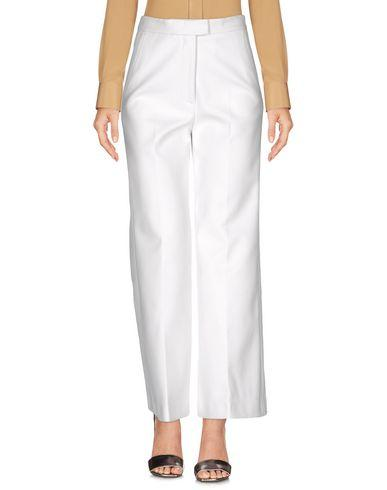 Msgm Casual Pants In White