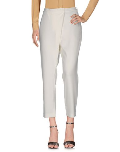 By Malene Birger Casual Pants In Ivory