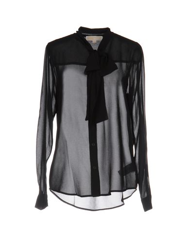 Michael Michael Kors Shirts & Blouses With Bow In Black