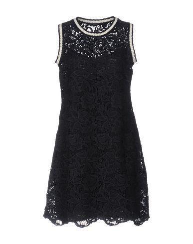 Ermanno Scervino Short Dresses In Dark Blue
