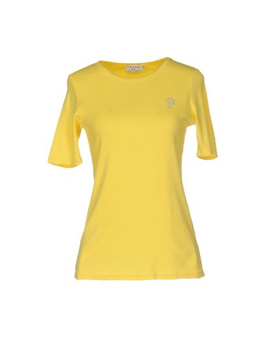 Frame T-shirt In Yellow