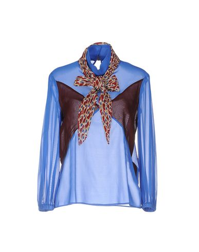 Just Cavalli Blouses In Bright Blue