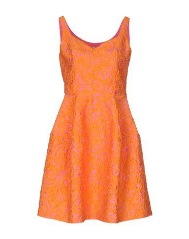 Pinko Short Dress In Orange