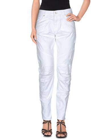 Pierre Balmain Denim Pants In White