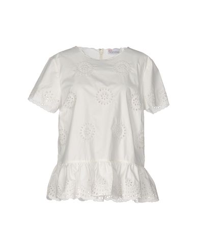 Red Valentino Blouse In White