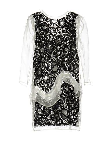 Msgm Short Dresses In Black
