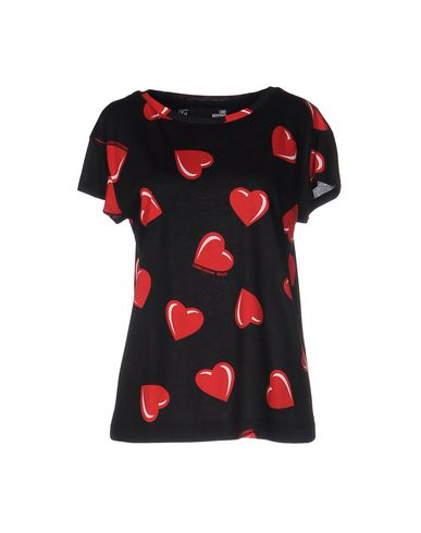 Love Moschino T-shirts In Black