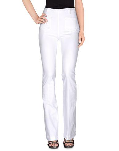 Frame Denim Pants In White