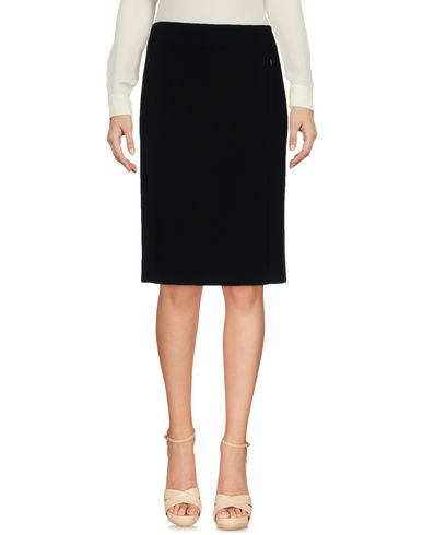 Diane Von Furstenberg Knee Length Skirts In Black