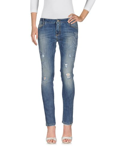 Ermanno Scervino Denim Pants In Blue
