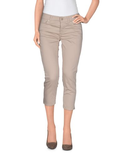 Dondup Cropped Pants & Culottes In Beige