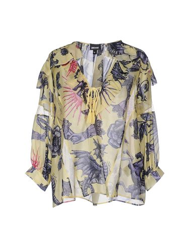 Just Cavalli Blouses In Yellow