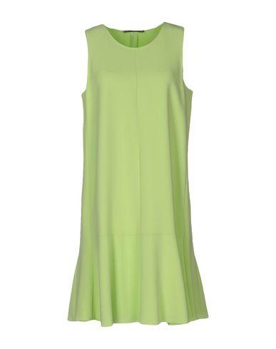 Ermanno Scervino Short Dresses In Acid Green