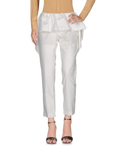 Dries Van Noten Casual Pants In White
