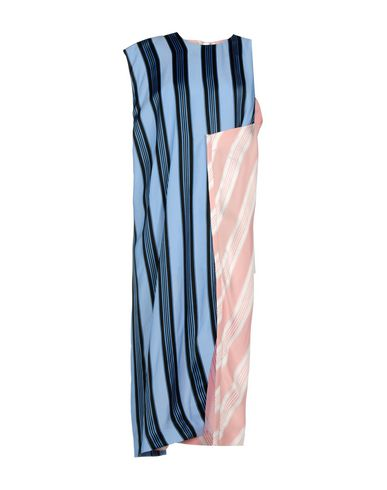 Acne Studios Knee-length Dresses In Blue
