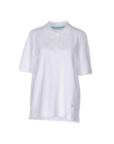 Acne Studios Polo Shirt In White
