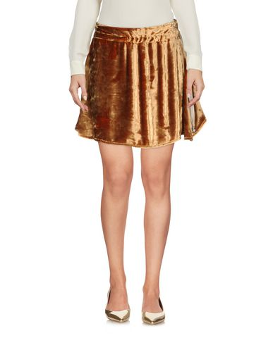Acne Studios Mini Skirt In Brown