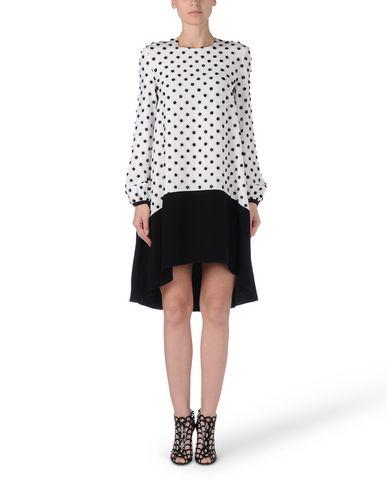 Victoria Victoria Beckham Midi Dress In White