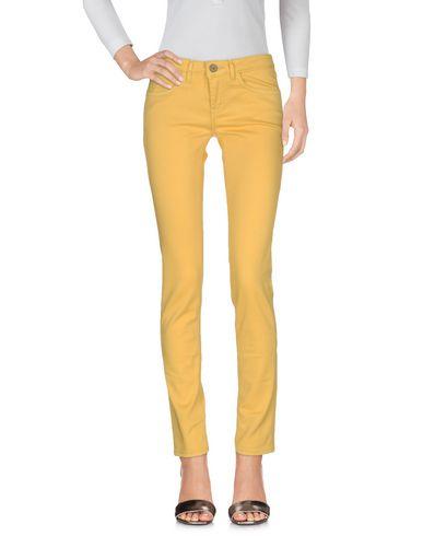 Happiness Denim Pants In Yellow