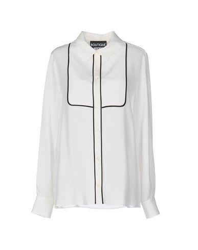 Boutique Moschino Silk Shirts & Blouses In Ivory