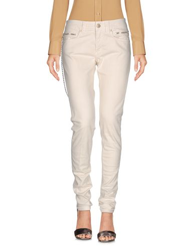 Dondup Casual Pants In Ivory