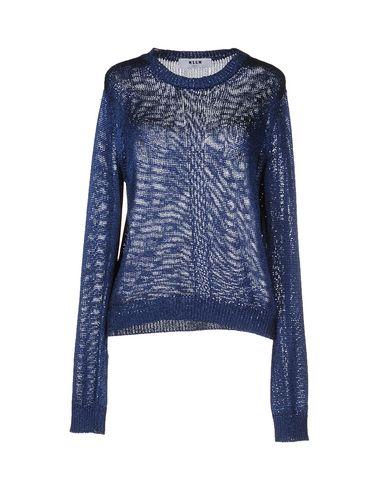 Msgm Sweater In Dark Blue