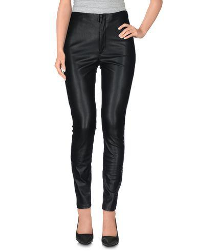 Mother Casual Pants In Black