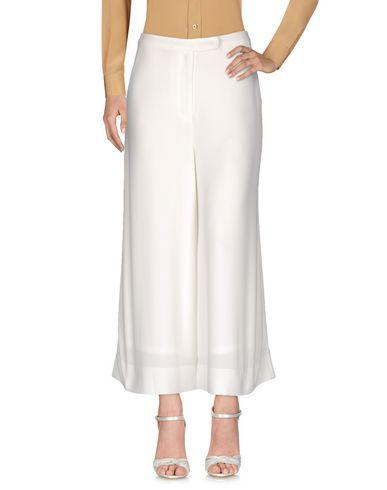 Elizabeth And James Cropped Pants & Culottes In White