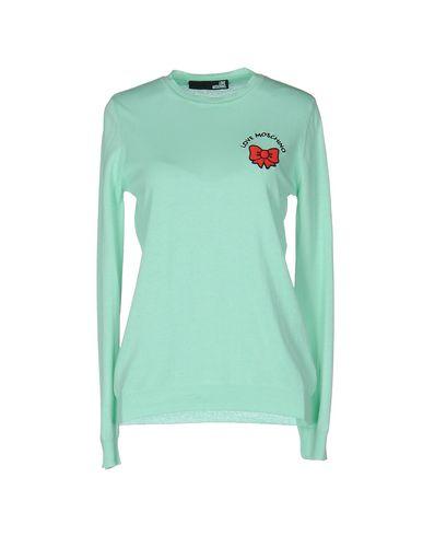 Love Moschino Sweater In Light Green