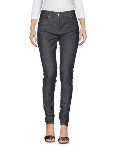 Boutique Moschino Denim Pants In Lead
