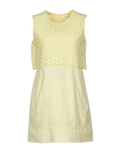 See By ChloÉ Short Dress In Yellow