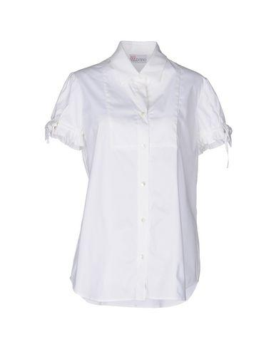 Red Valentino Solid Color Shirts & Blouses In White