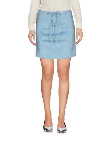 Glamorous Mini Skirt In Sky Blue