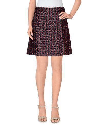 Sonia Rykiel Knee Length Skirt In Dark Blue