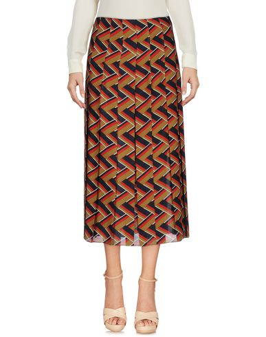Gucci 3/4 Length Skirts In レッド